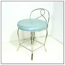 Swivel Vanity Chairs by Vanities Rolled Swivel Vanity Stool With Back Swivel Vanity