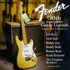 50th anniversary photo album image various artists fender 50th anniversary guitar legends