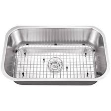 Undermount Stainless Steel Kitchen Sink by All In One Undermount Stainless Steel 30x18x9 0 Hole Single Bowl