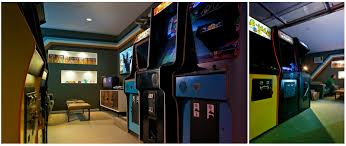 Retro Game Room Decor Cool Video Game Rooms Great Best Ideas About Computer Gaming Room