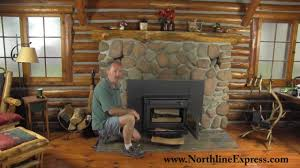 using fire starters to get your wood stove fire going youtube