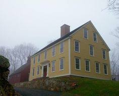 Clasic Colonial Homes by The Farmington Saltbox From Classic Colonial Homes Beautiful