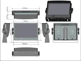 brand new 7 tft lcd monitor wiring diagram oem buy 7 tft lcd