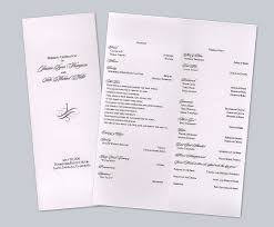 Wedding Programs Samples 100 Example Of Wedding Program Wedding Ceremony Wording