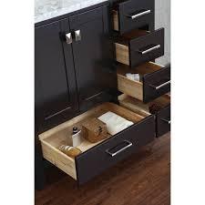 buy vincent 36 inch solid wood single bathroom vanity in espresso