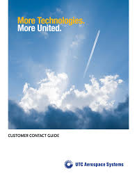 customer contact guide utc aerospace systems