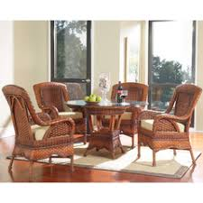 South Sea Rattan Furniture Dining Room Tables Outdoor Dining - Rattan dining room set