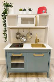 ikea kitchen cabinet touch up paint ikea play kitchen hack a makeover coffee crafts and