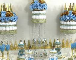 prince baby shower favors royal prince baby shower candy buffet centerpiece oh baby boy