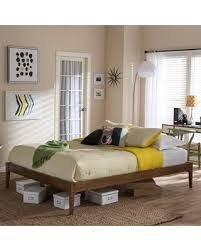 Wood Platform Bed Frames Check Out These Deals On Carson Boras Mid Century
