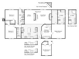 the momentum iv mm32643a manufactured home floor plan or modular