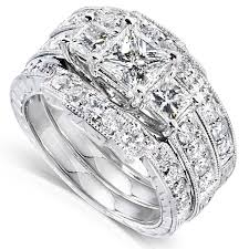 wedding sets for wedding ring sets for him and white gold diamond satisfaction