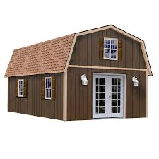 Gambrel Barns by Shop Best Barns Richmond Without Floor Gambrel Engineered Wood