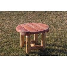Log Outdoor Furniture by Red Cedar Log Outdoor Adirondack Chair Sset