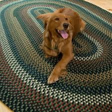Big Round Rugs Decorating Charming Multicolor Braided Rugs In Big Sized For