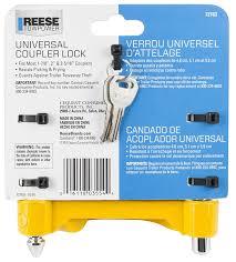 amazon com reese towpower 72783 universal coupler lock automotive