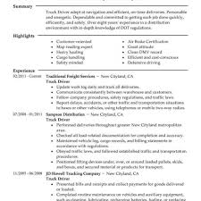 resume exles for students with little experience trucking warehouse driver resume exles templates truck sle fungram co