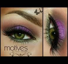 motives colorful makeup featuring motives cosmetics