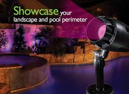 color changing landscape lighting led pool blue mountain pools in