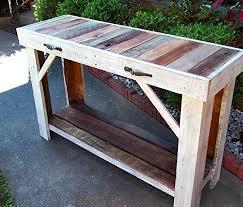 reclaimed wood entry table amazon com reclaimed wood sofa table entry table side table