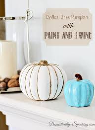 Dollar Tree Decorating Ideas Best 25 Dollar Tree Pumpkins Ideas On Pinterest Fall Decorating