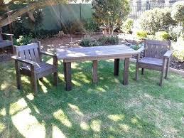 fashionable recycled plastic patio furniture terrene info
