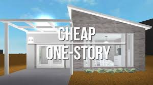 one house roblox welcome to bloxburg cheap one