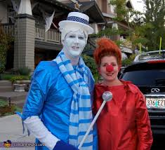Shark Attack Victim Halloween Costume Heat Miser U0026 Snow Miser Costume Heat Miser Homemade Costumes