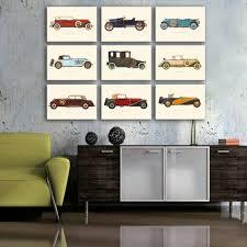 Modern Retro Home Decor by Online Get Cheap Retro Car Art Aliexpress Com Alibaba Group