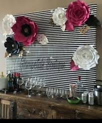 Wedding Backdrop Ebay Kate Spade Custom Hand Made Paper Flower Party Backdrop Event