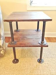 Steel Pipe Desk Side Table Inkivy Wynn Pull Up Laptop Desk By Ink And Ivy Side