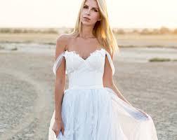 blue wedding dresses boho wedding dress etsy
