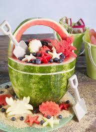Beach Basket Watermelon Board Beach Bucket