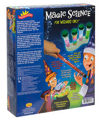 amazon com scientific explorer magic science for wizards only kit