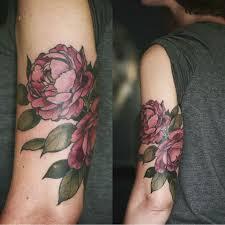 Big Flower Tattoos On - best 25 vintage floral tattoos ideas on vintage