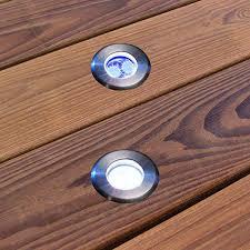 le de terrasse encastrable spot led encastrable rond diam 40 mm blanc vente achat