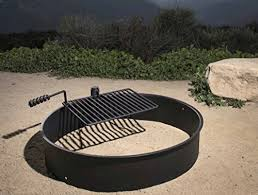 Firepit Ring 24 32 36 Steel Ring W Cooking Grate Cfire