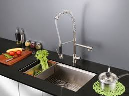 Faucets For Kitchen Sink by Ruvati Alori Single Handle Kitchen Faucet With Pre Rinse Spray