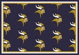 minnesota vikings area rug nfl vikings area rugs