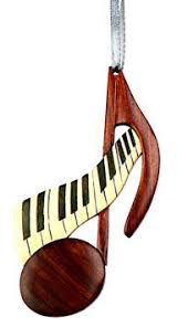 Musical Note Ornaments Ornaments Guitar Clef Note Saxophone Piano