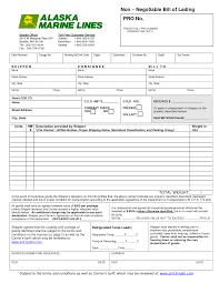 Sample Resume Declaration Format by 13 Bill Of Lading Templates Excel Pdf Formats
