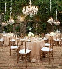Decor Chandelier Lighten Up Your Wedding Reception With Chandelier