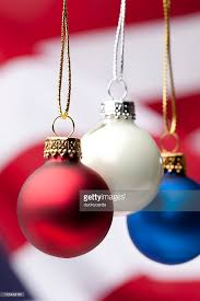 patriotic ornaments and usa flag stock photo getty images