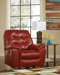 Livingroom Gg Furniture Excellent Red Leather Recliner For Inspiring Modern