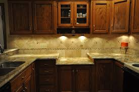 kitchen counter backsplash granite countertops and tile backsplash ideas eclectic kitchen
