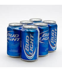 Bud Light 6 Pack Cans Unwined Fine Wines Spirits Ales