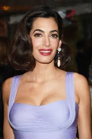 is amal clooney hair one length amal clooney hair secrets and hairstyles amal clooney venice