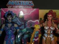 Teela And Evil Lyn - reved teela evil lyn from he man masters of the universe