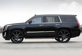 cadillac escalade black rims dub s109 push wheels black with milled accents rims