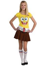 Teenage Halloween Costumes For Girls Teen Sponge Costume